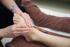 Fußmassage in Thailand Stockfoto