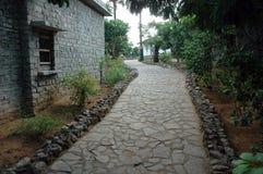 Fußpfad Stockbild