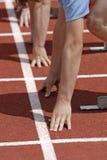 Fußrennen Lizenzfreie Stockfotografie