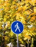 Fußstraße Lizenzfreies Stockbild