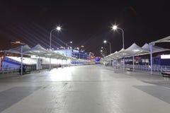 Fußweg des Besuchers, Shanghai-Weltausstellung 2010 stockfotos