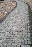 Fußweg von den Steinen Stockfotos