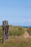 Fußweg zum Lake Superior Stockbilder