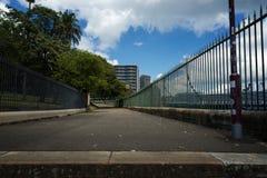 Fußweg zur Unendlichkeit Lizenzfreies Stockbild