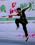 Fu chino del kung fotos de archivo