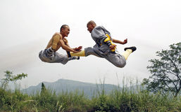 Fu chino del kung fotos de archivo libres de regalías