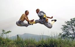 Fu chinois de kung Photos libres de droits