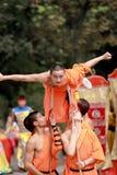 Fu cinese del kung Fotografia Stock Libera da Diritti