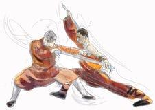 Fu de Kung Foto de archivo libre de regalías