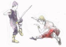 Fu Kung Стоковые Фотографии RF