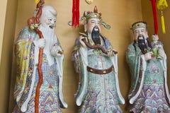 Fu Lu Shou. Chinese gods Fu Lu Shou royalty free stock photos