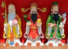 Fu Lu Shou Status royalty free stock photos