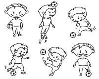 Fußball Lizenzfreies Stockfoto