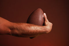 Fußball, den Sie wetteten Lizenzfreie Stockbilder