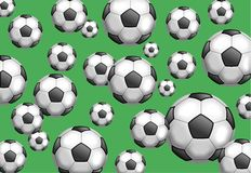 Fußball-Tapete Stockfotos