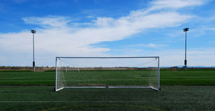 Fußball-Ziel Stockbild