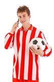 Fußballspieler Stockfotografie