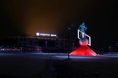 Fußballstadion Spartak Opening-Arena Lizenzfreie Stockbilder
