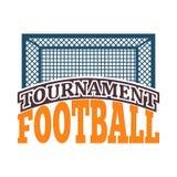 Fußballzeichen-Vektorsatz Lizenzfreies Stockfoto