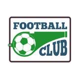 Fußballzeichen-Vektorsatz Lizenzfreies Stockbild