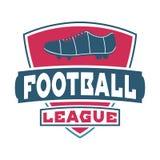 Fußballzeichen-Vektorsatz Stockfotografie