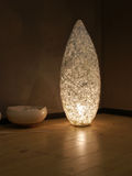 Fußbodenlampe Lizenzfreies Stockfoto