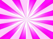 Fuchsia background. A fuchsia background with starburst and light Stock Image