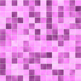 Fuchsia bathroom tiles Stock Photos