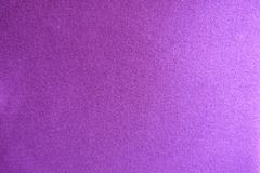 Fuchsia colored knitted fabric from above Stock Photo