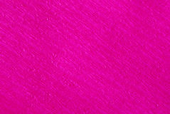 Fuchsia crepe paper Royalty Free Stock Photos