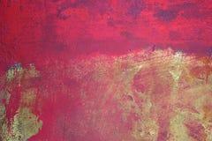 Fuchsia en Geel Stock Foto