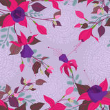 Fuchsia pattern Royalty Free Stock Photography