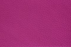 Fuchsia pink Leather texture stock photo