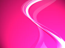 Fuchsia waves Stock Image