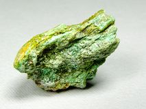 Fuchsite chrome mica mineral Royalty Free Stock Photography