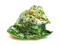 Fuchsite chrome mica mineral Royalty Free Stock Photos