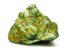 Fuchsite rock stone mineral Royalty Free Stock Image