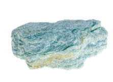 Fuchsitemineraal, groene steen Stock Foto