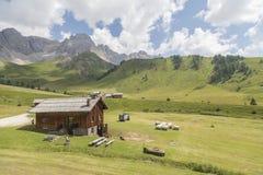 Free Fuciade Passo San Pellegrino. Landescape Of The San Pellegrino Pass, Val Di Fassa, Trentino Alto Adige, Italy Royalty Free Stock Photo - 181823025