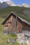 Fuciade, Soraga, Trentino Alto Adige (Dolomites) - Tyrolean chal Royalty Free Stock Photos
