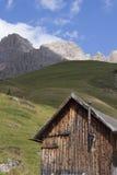Fuciade, Soraga, Trentino Alto Adige (Dolomites) - Tyrolean chal Stock Photo
