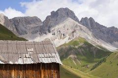 Fuciade, Soraga, Trentino Alto Adige (Dolomites) - Tyrolean chal Stock Images