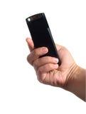 Fucilazione con la macchina fotografica mobile Fotografia Stock