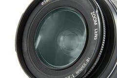 Fucilazione a macroistruzione dell'obiettivo di macchina fotografica Fotografia Stock Libera da Diritti