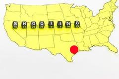 Fucilazione nel Texas illustrazione vettoriale