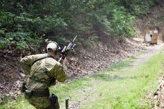 Fucilazione tattica Fotografie Stock Libere da Diritti