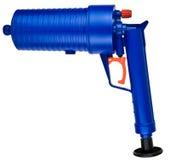 Fucile ad aria compressa ad alta pressione di pulizia dello scolo Fotografia Stock Libera da Diritti