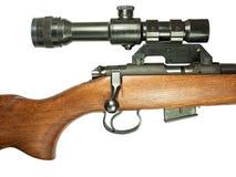 Fucile con mirino Immagini Stock