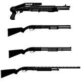 Fucile da caccia illustrazione di stock