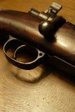 Fucile da caccia antico fotografie stock